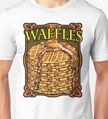 WAFFLES!! Unisex T-Shirt