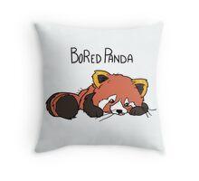 BoRed Panda Throw Pillow