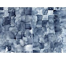 Indigo Watercolor Photographic Print