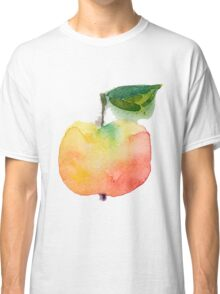 fresh useful eco-friendly apple vector illustration Classic T-Shirt