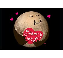 To Pluto With Love Photographic Print