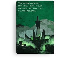 The Return of the King inspired design (2). Canvas Print