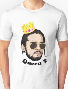 Queen T - Black Text Unisex T-Shirt