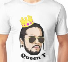 Queen T - Black Text Unisex T-Shirt
