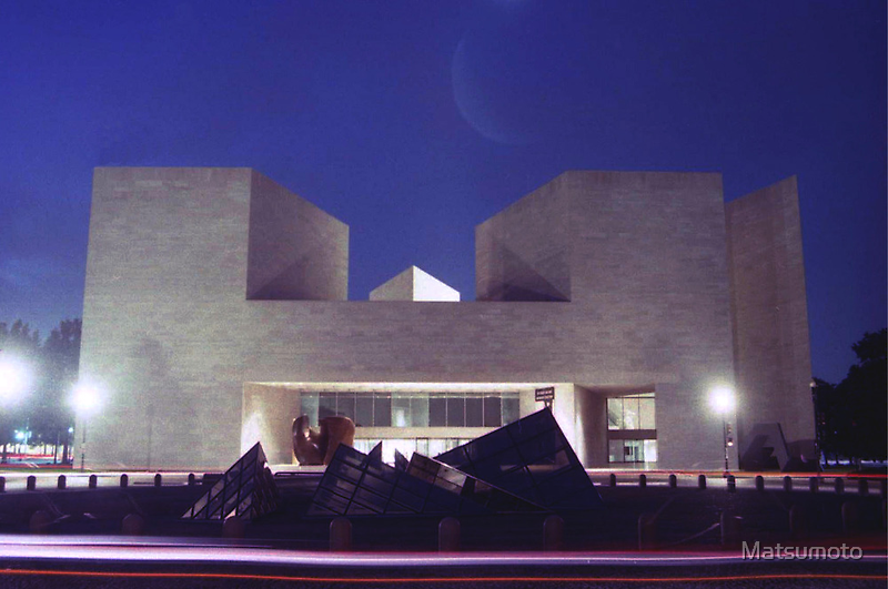 The National Gallery of Art -  Washington D.C by Matsumoto
