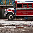 Bus Depot Portrait, Antigua by morealtitude