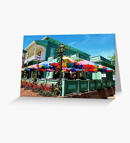 Umbrellas Greeting Card