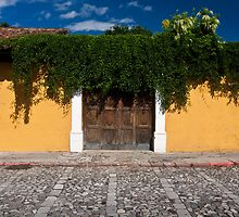 Blue, Yellow and Green, Antigua by morealtitude