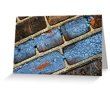 touch of blue Greeting Card
