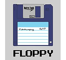 Tech Fashion - Floppy Disk - 90's Retro Photographic Print
