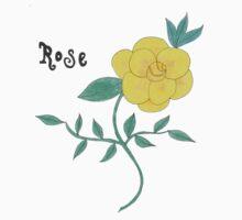 Yellow Rose Kids Tee