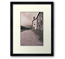 Farmhouse in Vipava valley Framed Print