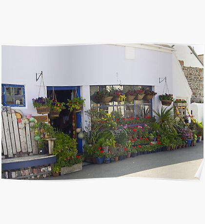 The plant shop Poster