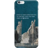 The Fellowship of the Ring inspired design (3). iPhone Case/Skin