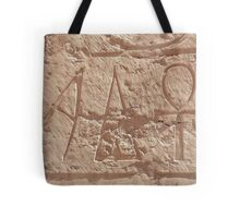 A stands for Ankh  Tote Bag