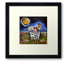 Catch a Falling Star Framed Print