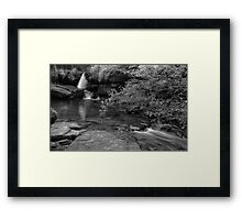 Ricochet Falls (version VI) Framed Print