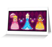 Super Mario Girls Greeting Card