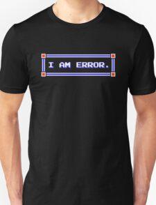 Legend of Zelda - Adventure of Link - I AM ERROR. Unisex T-Shirt