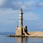 Hania Lighthouse by emele
