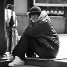Japanese Homeless series by Alan Black