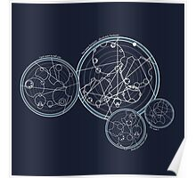 Doctor Who Gallifreyan - You Were Fantastic Poster