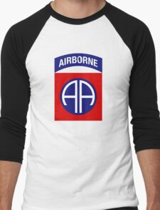 82nd Airborne Division (US Army) Men's Baseball ¾ T-Shirt