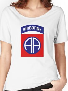 82nd Airborne Division (US Army) Women's Relaxed Fit T-Shirt