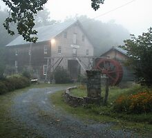 Old Cooks Mill #4 by Jack Barefoot