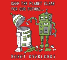 Robot Earth Kids Clothes