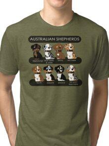 Australian Shepherds Tri-blend T-Shirt