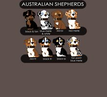 Australian Shepherds Womens Fitted T-Shirt