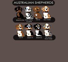 Australian Shepherds Womens Fitted T-Shirt