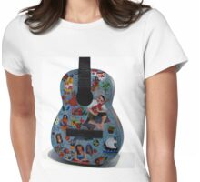 Symphony of colors Womens Fitted T-Shirt