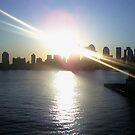 Manhattan Sunrise by Michael Degenhardt