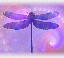 Cosmic Dragonfly by emilymhanson