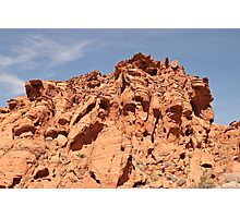 Jagged top Photographic Print