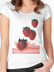fragole Women's Fitted Scoop T-Shirt