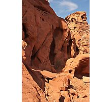 Cubby holes Photographic Print