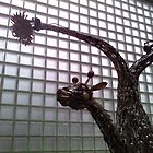 Stainless Steel Cutlery Giraffe by Samantha Reddington