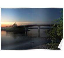 Windsor-Falmouth Bridge Poster