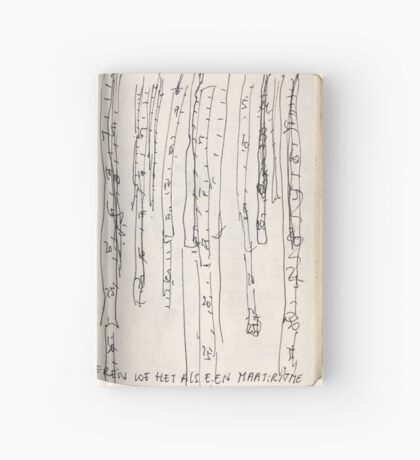 Time is a measurement - sketch book Hardcover Journal
