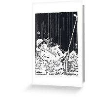 Sandblaster Greeting Card