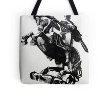 David on the Horse Tote Bag