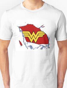 Ripped Wonder Woman T-Shirt
