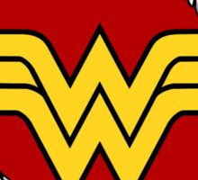 Ripped Wonder Woman Sticker