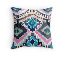 Oxomoco Tribal Throw Pillow