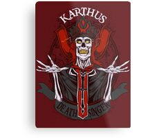 Retro - Karthus the Deathsinger Metal Print