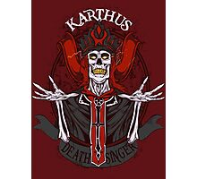 Retro - Karthus the Deathsinger Photographic Print