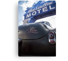 Alice At The Blue Swallow Motel Canvas Print
